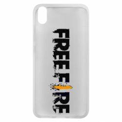 Чехол для Xiaomi Redmi 7A Free Fire spray