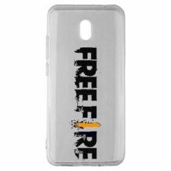 Чехол для Xiaomi Redmi 8A Free Fire spray