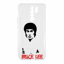 Чехол для Xiaomi Redmi 9 Bruce Lee
