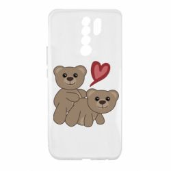 Чехол для Xiaomi Redmi 9 Funny passion
