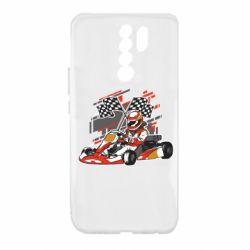 Чехол для Xiaomi Redmi 9 Go Cart