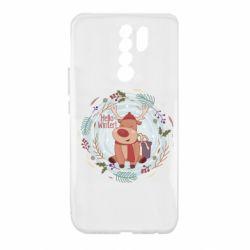 Чехол для Xiaomi Redmi 9 Hello winter!