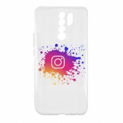 Чехол для Xiaomi Redmi 9 Instagram spray
