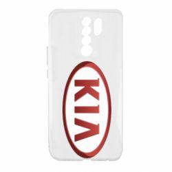 Чохол для Xiaomi Redmi 9 KIA 3D Logo