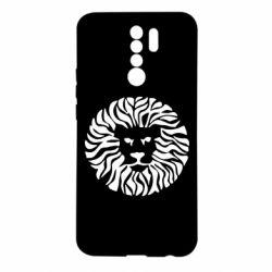 Чехол для Xiaomi Redmi 9 лев