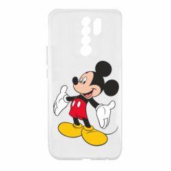Чехол для Xiaomi Redmi 9 Mickey Mouse