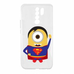 Чохол для Xiaomi Redmi 9 Minion Superman