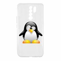 Чохол для Xiaomi Redmi 9 Пінгвін