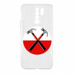Чохол для Xiaomi Redmi 9 Pink Floyd Main Logo