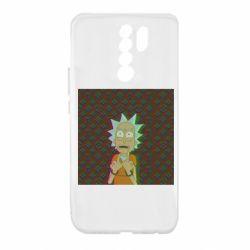 Чехол для Xiaomi Redmi 9 Rick Fck Hologram