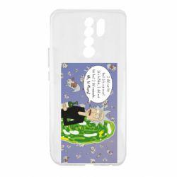 Чехол для Xiaomi Redmi 9 Rick Wiseau
