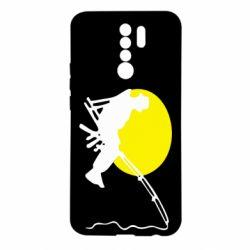 Чехол для Xiaomi Redmi 9 Рыбак