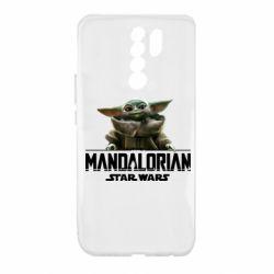 Чехол для Xiaomi Redmi 9 Star Wars Yoda beby
