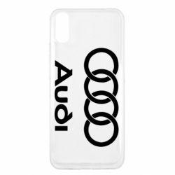 Чехол для Xiaomi Redmi 9a Audi