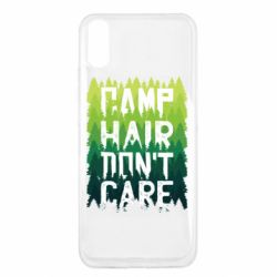 Чехол для Xiaomi Redmi 9a Camp hair don't care