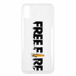 Чехол для Xiaomi Redmi 9a Free Fire spray