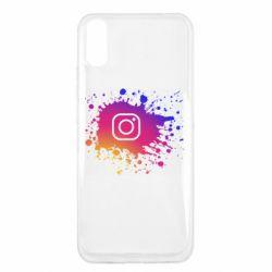 Чехол для Xiaomi Redmi 9a Instagram spray