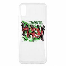 Чехол для Xiaomi Redmi 9a Kiev graffiti