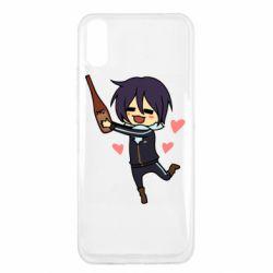 Чехол для Xiaomi Redmi 9a Noragami and drink