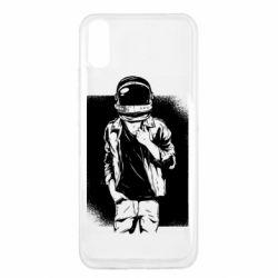 Чехол для Xiaomi Redmi 9a Рок Космонавт