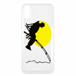 Чехол для Xiaomi Redmi 9a Рыбак