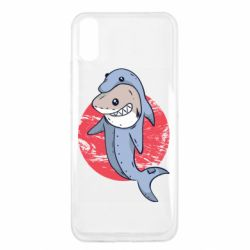 Чехол для Xiaomi Redmi 9a Shark or dolphin