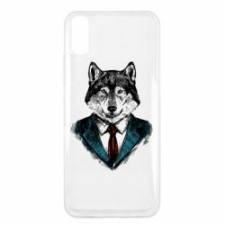 Чехол для Xiaomi Redmi 9a Wolf in costume