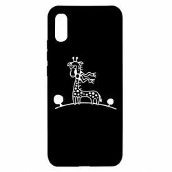 Чехол для Xiaomi Redmi 9a жираф