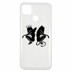 Чохол для Xiaomi Redmi 9c Ангел і Демон