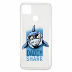 Чехол для Xiaomi Redmi 9c Daddy shark