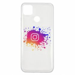 Чехол для Xiaomi Redmi 9c Instagram spray