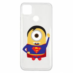 Чохол для Xiaomi Redmi 9c Minion Superman