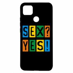 Чехол для Xiaomi Redmi 9c Sex?Yes!