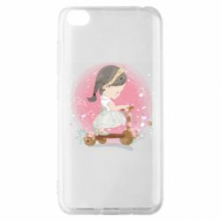 Чехол для Xiaomi Redmi Go Cute Scooter Girl