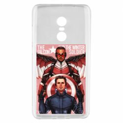 Чохол для Xiaomi Redmi Note 4 Falcon and the Winter Soldier Art