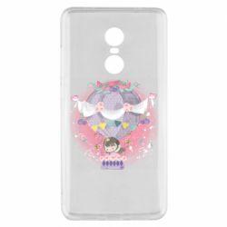 Чехол для Xiaomi Redmi Note 4x Принцесса на воздушном шаре