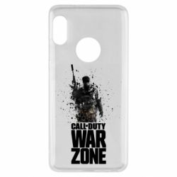 Чехол для Xiaomi Redmi Note 5 COD Warzone Splash