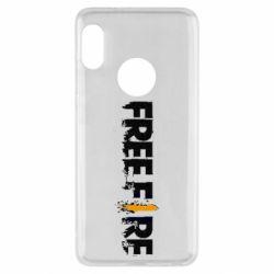 Чехол для Xiaomi Redmi Note 5 Free Fire spray