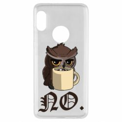 Чехол для Xiaomi Redmi Note 5 Owl and coffee
