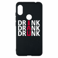 Чехол для Xiaomi Redmi Note 6 Pro Drink Drank Drunk
