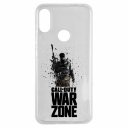 Чехол для Xiaomi Redmi Note 7 COD Warzone Splash