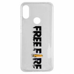 Чехол для Xiaomi Redmi Note 7 Free Fire spray