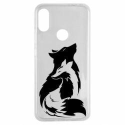 Чехол для Xiaomi Redmi Note 7 Wolf And Fox