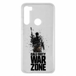 Чехол для Xiaomi Redmi Note 8 COD Warzone Splash