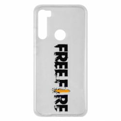 Чехол для Xiaomi Redmi Note 8 Free Fire spray