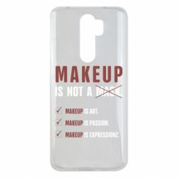 Чехол для Xiaomi Redmi Note 8 Pro Make Up Is Not A Mask