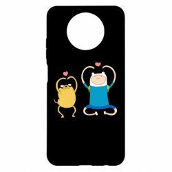 Чехол для Xiaomi Redmi Note 9 5G/Redmi Note 9T Adventure time