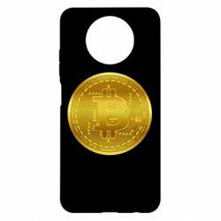 Чохол для Xiaomi Redmi Note 9 5G/Redmi Note 9T Bitcoin coin
