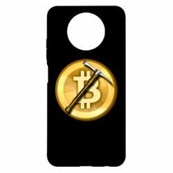 Чохол для Xiaomi Redmi Note 9 5G/Redmi Note 9T Bitcoin Hammer