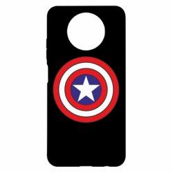 Чехол для Xiaomi Redmi Note 9 5G/Redmi Note 9T Captain America